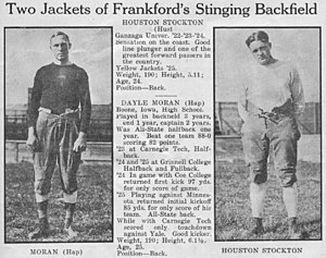 Frankford Yellow Jackets - Stockton and Moran Yellow Jackets 1926