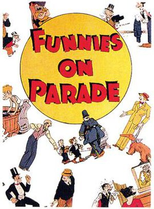 Funnies on Parade - Cover of Funnies on Parade (1933)
