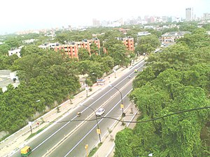 Gole Market - Gole Market (Peshwa Road) Picture taken from roof of M.S.Flats