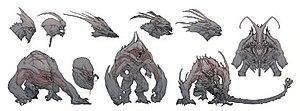 Evolve (video game) - Image: Goliath art