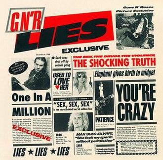 G N' R Lies - Image: Guns and Roses GNR Lies