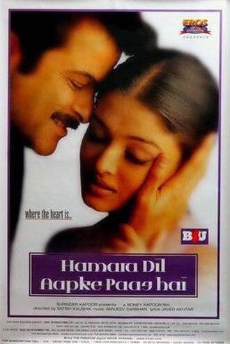 Hamara Dil Aapke Paas Hai - Poster