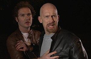 An Act of Valour - Image: Henry Blake as Will & Juha Leppäjärvi as Kevin