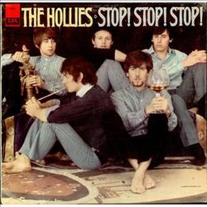 For Certain Because - Image: Hollies Stop! Stop! Stop! album cover