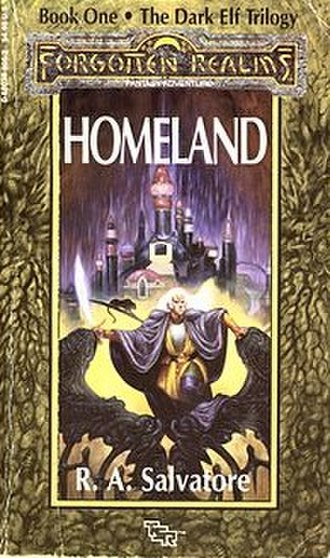 Homeland (Forgotten Realms novel) - Cover of the first edition