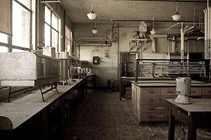 Indiana Army Ammunition Plant - Main Laboratory, building 706-1.