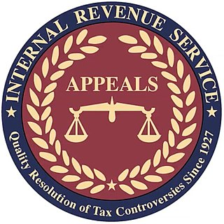 Independent Office of Appeals Independent organization within the US Internal Revenue Service