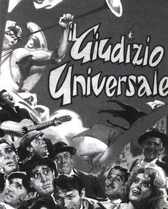 The Last Judgment (1961 film) - Image: Il Giudizio universale poster