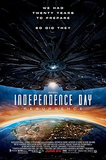 <i>Independence Day: Resurgence</i> 2016 US science fiction film directed by Roland Emmerich
