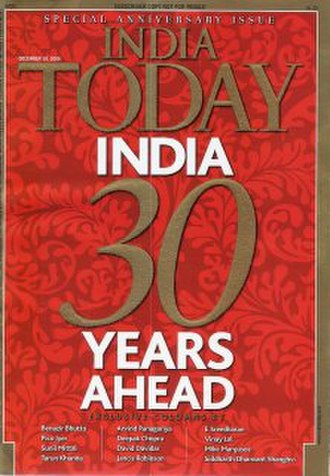 India Today - 30th Anniversary issue of India Today