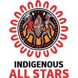 Indigenous All Stars (rugby league) - Image: Indigenous all stars logo 2010