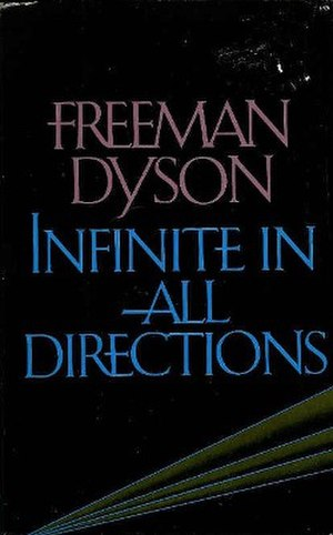 Infinite in All Directions - Cover of the first edition