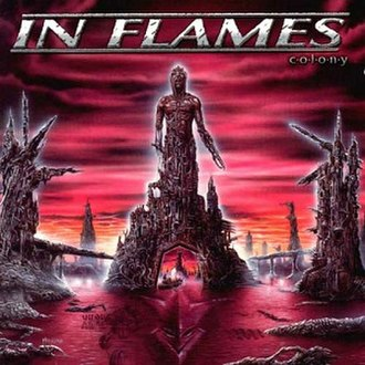 Colony (In Flames album) - Image: Inflamescolony