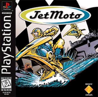 Jet Moto (video game) - Image: Jet Moto Coverart