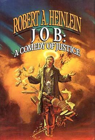 Job: A Comedy of Justice - Cover of first edition (hardcover)
