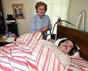 John McClamrock - John McClamrock with his mother, Ann
