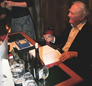 John Harris (curator) - John Harris at the launch of his book, Moving Rooms on 24 October 2007