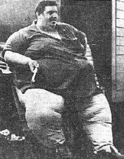 Jon Brower Minnoch Heaviest ever recorded human