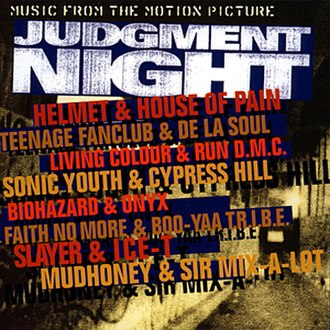 Judgment Night (soundtrack) - Image: Judgment Night (soundtrack) album coveart