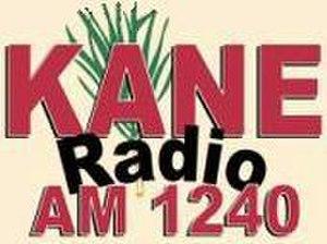 KANE (AM) - Image: KANE logo