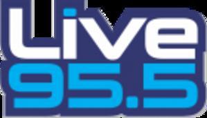 KBFF - Image: KBFF Live 95.5 logo