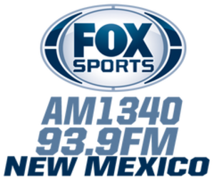 KCQL - Image: KCQL Fox Sports 1340 93.9 logo
