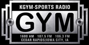 KGYM - Image: KGYM SPORTS RADIO logo