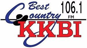 KKBI - Image: KKBI Best Country 106.1FM logo