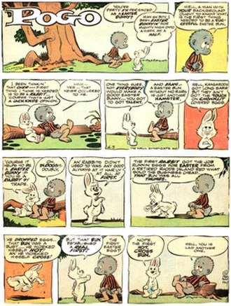 Walt Kelly - Walt Kelly's Pogo (April 3, 1966)