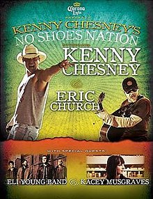 Kenny Chesney No Shoes Nation tour poster.jpg