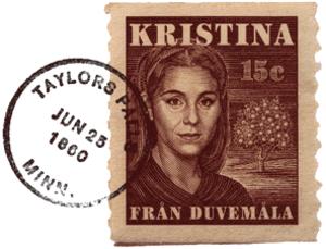 Kristina från Duvemåla - Image: Kristina Från Duvemåla Logo