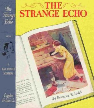 Kay Tracey - Cover of The Strange Echo, 1934