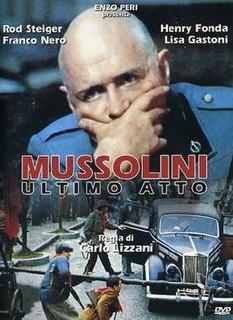 <i>Last Days of Mussolini</i> 1974 film by Carlo Lizzani