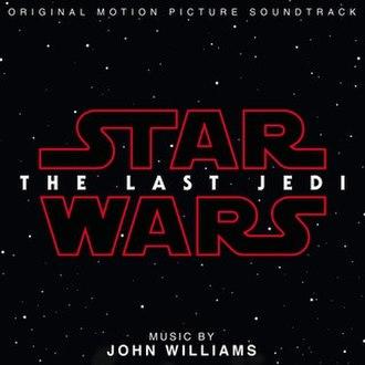 Star Wars: The Last Jedi (soundtrack) - Image: Last Jedi Soundtrack Cover