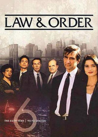 Law & Order (season 6) - Season 6 U.S. DVD cover