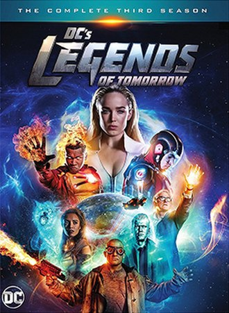 Legends of Tomorrow (season 3) - Home media cover