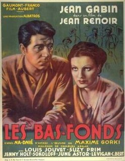 <i>The Lower Depths</i> (1936 film) 1936 film by Jean Renoir