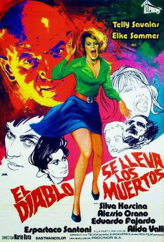 Lisa and the Devil - Spanish theatrical release poster