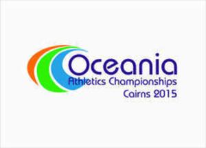 2015 Oceania Athletics Championships - Image: Logo of the 2015 Oceania Athletics Championships
