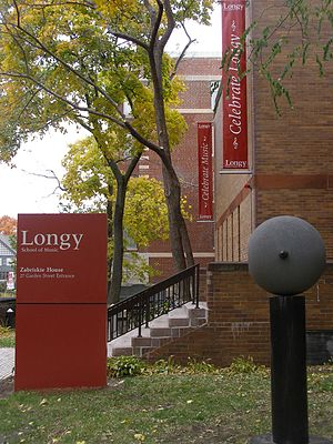 Longy School of Music of Bard College - Garden Street entrance