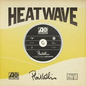 Heat Wave (Martha and the Vandellas song) - Image: Love is like a heatwave