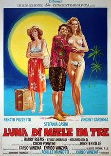 <i>Luna di miele in tre</i> 1976 film by Carlo Vanzina
