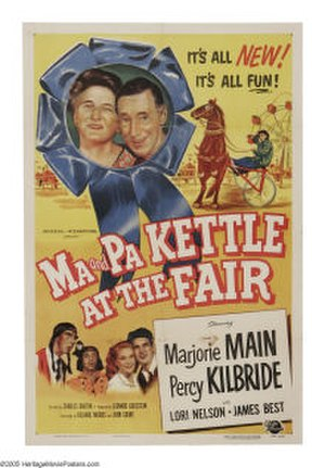 Ma and Pa Kettle at the Fair - Theatrical release poster