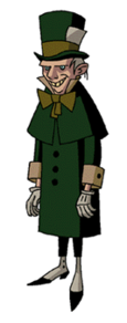 The Mad Hatter As He Was Later Depicted In New Batman Adventures Again Voiced By McDowall