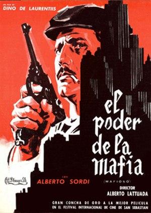 Mafioso (film) - The Spanish movie poster.