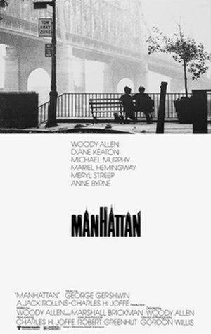 Manhattan (film) - Theatrical release poster