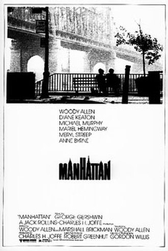 Manhattan (film) - Theatrical release poster