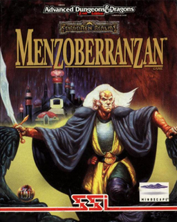 <i>Menzoberranzan</i> (video game) video game
