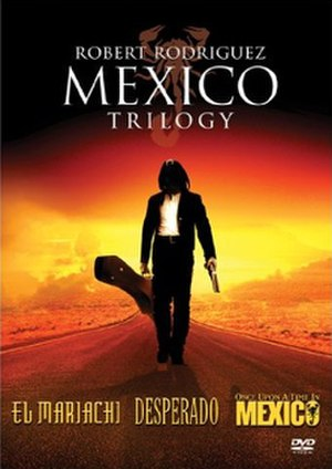 Mexico Trilogy - The cover of the DVD trilogy box set.