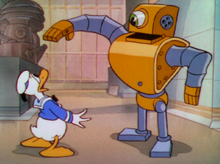 <i>Modern Inventions</i> 1937 Donald Duck cartoon